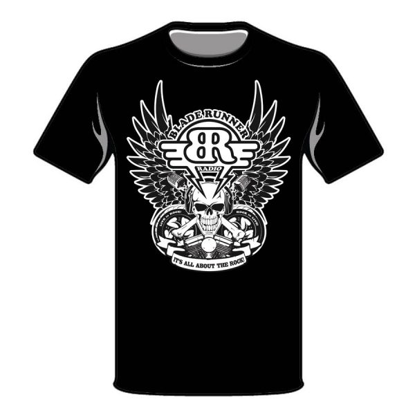 Live To Rock T-Shirt (Black)